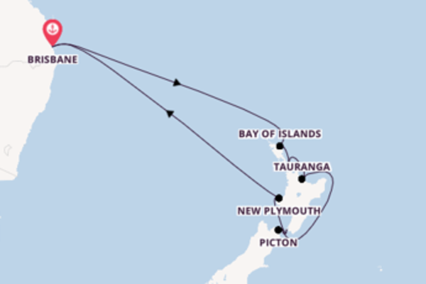 15 day cruise with the Coral Princess to Brisbane