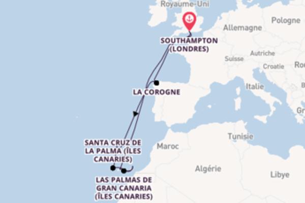 14 jours pour découvrir Funchal à bord du beateau Ventura