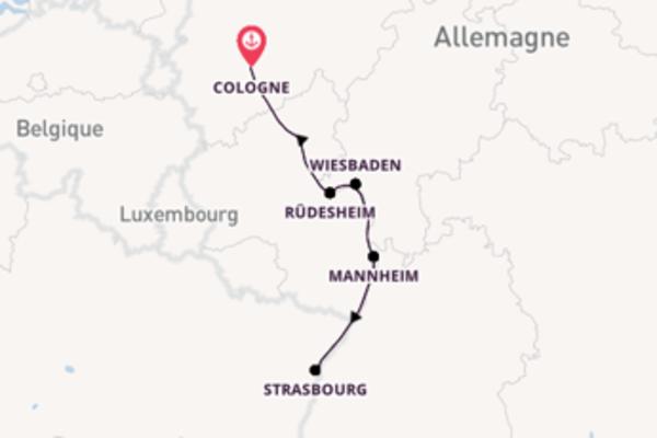Superbe balade pour découvrir Spire, Allemagne