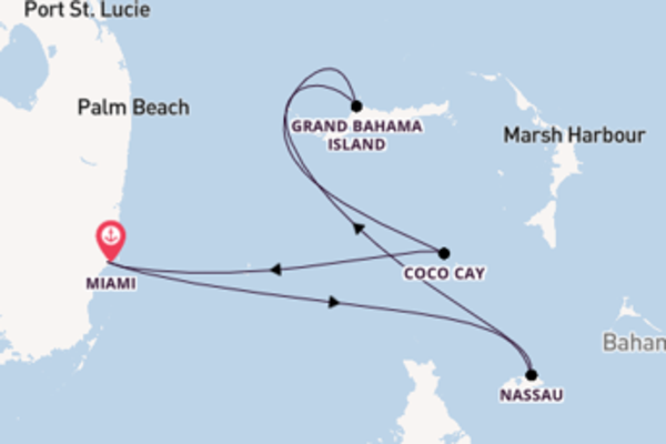 Journey with Royal Caribbean from Miami