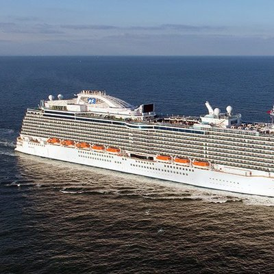 Eersteklas cruise met de Regal Princess