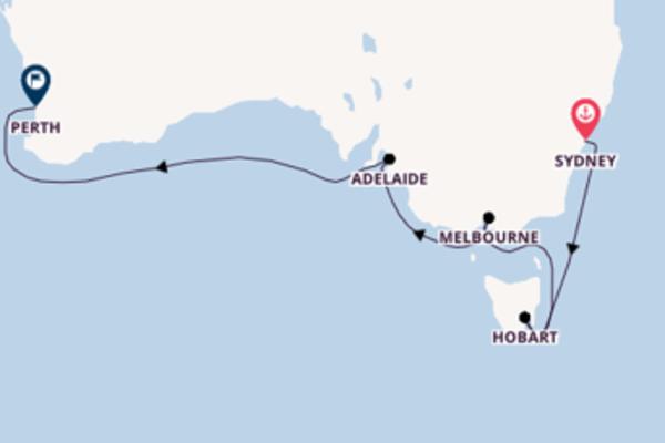 Cruise met Princess Cruises naar Hobart