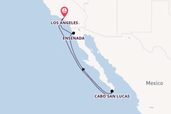 6daagse cruise vanaf Los Angeles