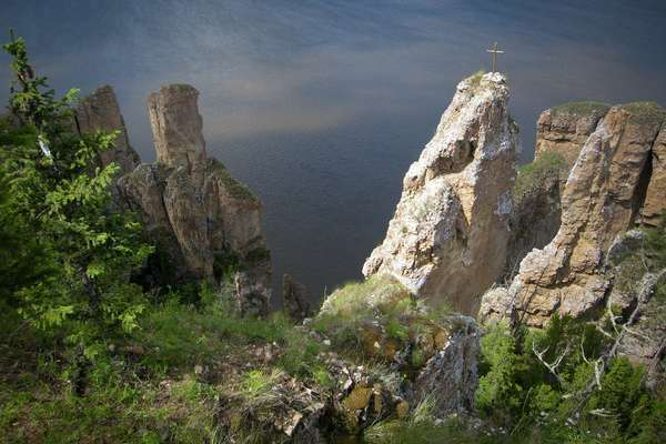 Wiljui-Mündung, Russland