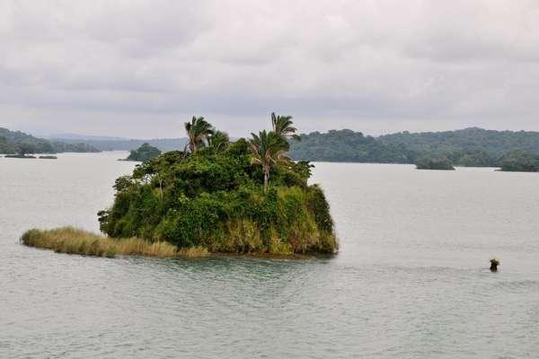 озеро Гатун, Панама