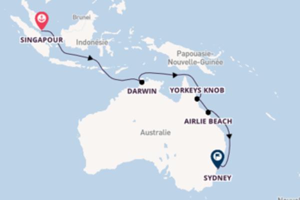 Authentique croisière vers Sydney via Newcastle