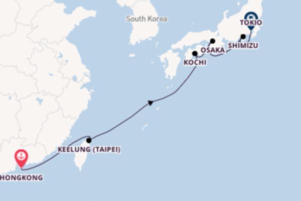 Geniet van het pittoreske Keelung (Taipei) met Princess Cruises