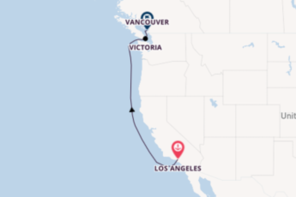 Sailing with Princess Cruises from Los Angeles to Vancouver