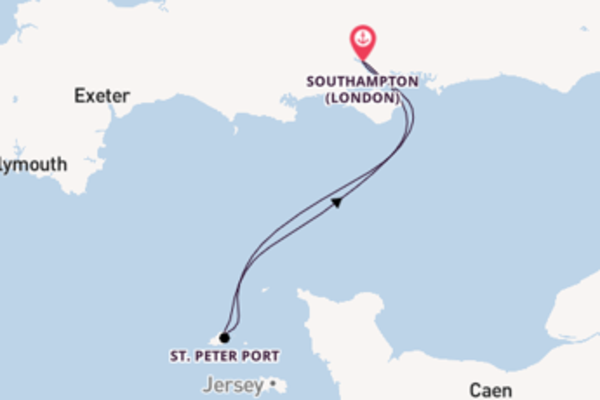 3 day journey from Southampton (London)