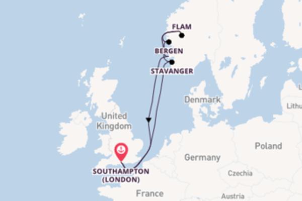 A bordo di MSC Magnifica da Southampton (London)