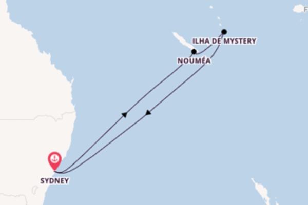 Relaxante cruzeiro até Sydney