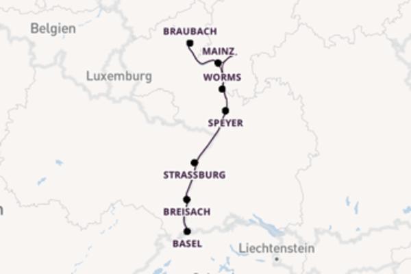 Wundervolle Reise ab Frankfurt am Main