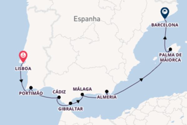 Imperdível cruzeiro até Barcelona