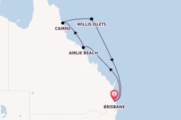 A bordo di Carnival Spirit da Brisbane