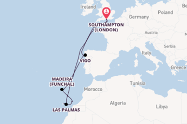 Voyage with Princess Cruises from Southampton (London)