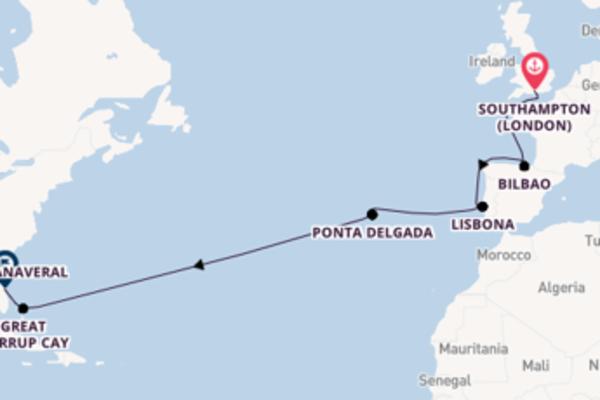 Crociera di 15 giorni a bordo di Norwegian Escape