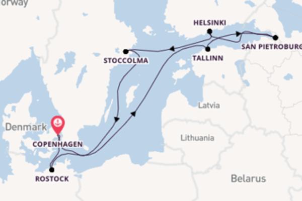 Favoloso viaggio di 10 giorni passando per Tallinn