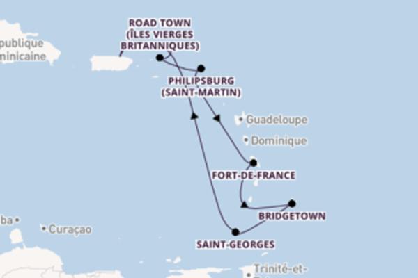 8 jours de navigation à bord du bateau Celebrity Summit vers San Juan