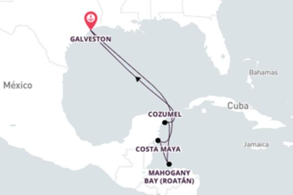 6 dias pelo Caribe Ocidental