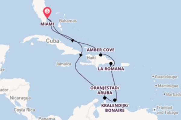 Expedition with Carnival Cruise Lines from Miami