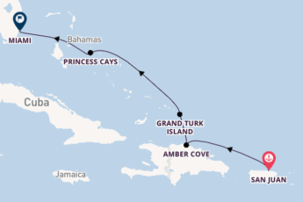 6 day cruise on board the Carnival Fascination from San Juan