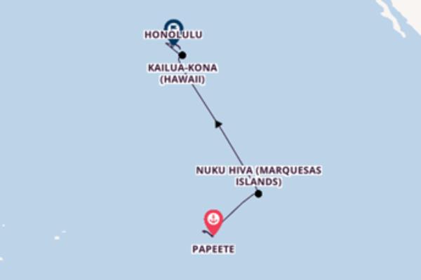 Spectacular Papeete to spectacular Honolulu