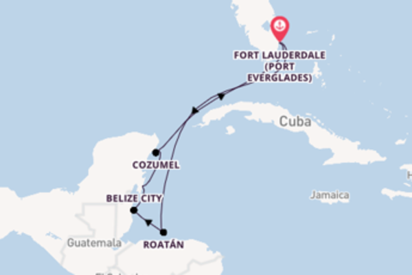 8 day journey on board the Sky Princess  from Fort Lauderdale (Port Everglades)