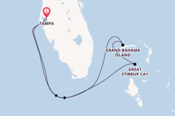 Expedition from Tampa with the Norwegian Jade