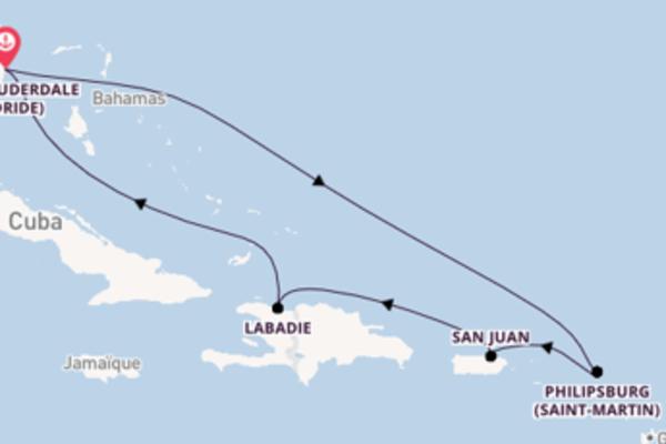 Merveilleuse croisière avec Royal Caribbean pendant 8 jours