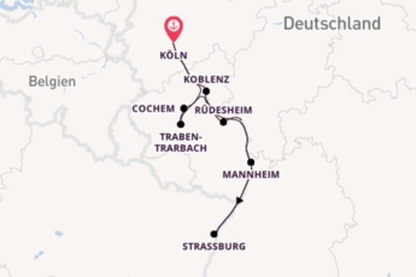 Köln und Traben-Trarbach genießen
