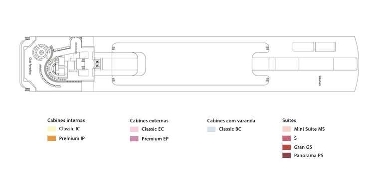 Costa neoRiviera Deck 12