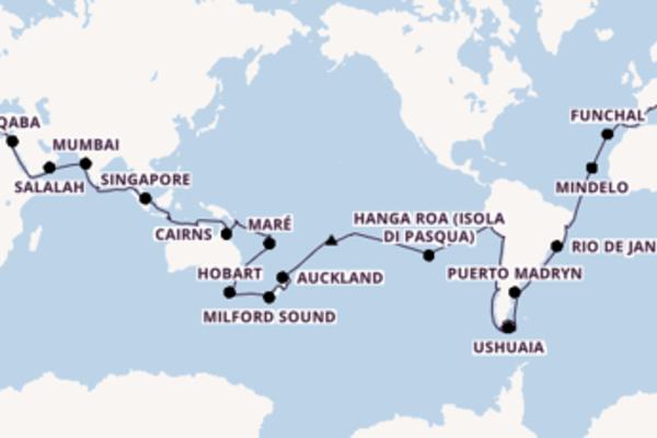 Lasciati affascinare da Port Vila, Vanuatu arrivando a Barcellona, Spagna