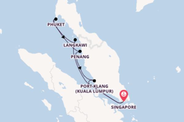 Attraente crociera di 8 giorni passando per Phuket