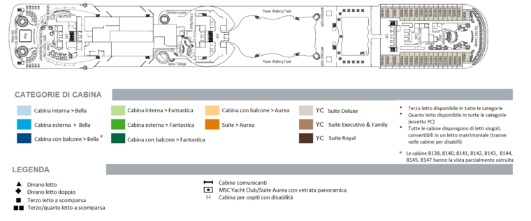 Msc splendida design italiano su una nave da crociera for Balcony ki design