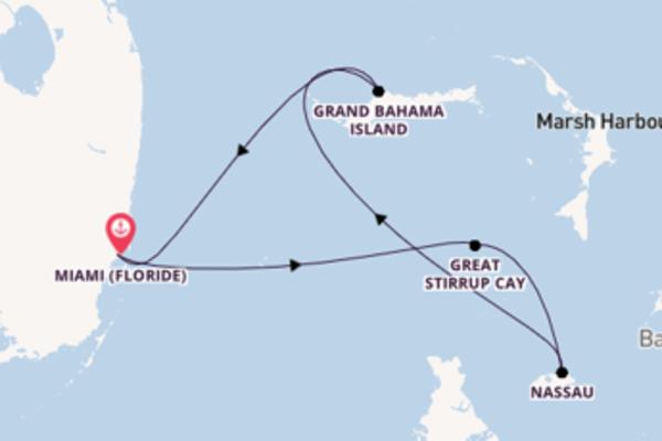 5 jours de navigation à bord du bateau Norwegian Sky vers Miami
