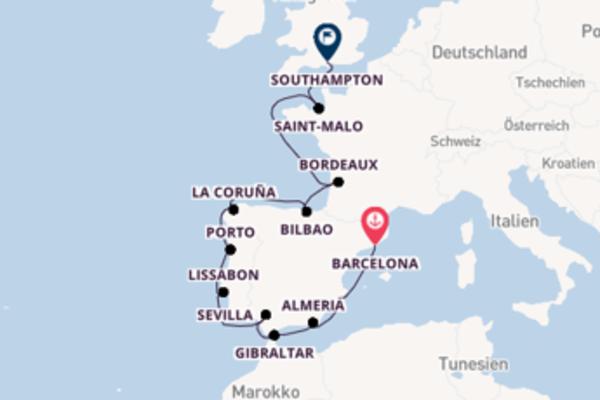 Barcelona und Bilbao entdecken