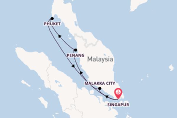 Genießen Sie Malakka City auf der Quantum of the Seas