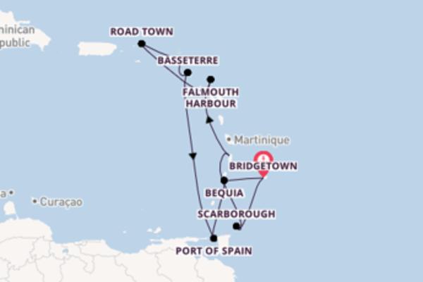 Delizioso viaggio di 11 giorni passando per Falmouth Harbour