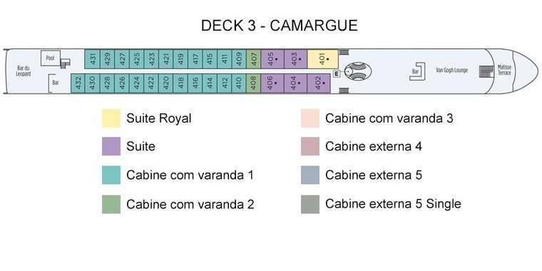 SS Catherine Deck 3 - Camarague