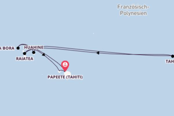 8 Tage Pazifik Reise
