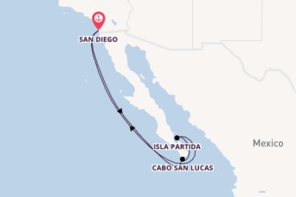 Sailing from San Diego via Cabo San Lucas