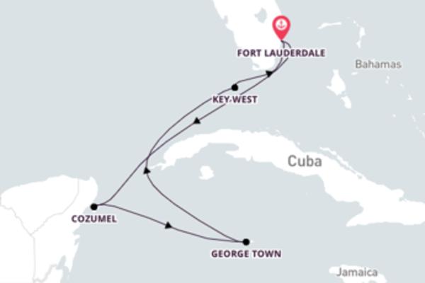 Navegando por 7 dias a bordo do Celebrity Equinox