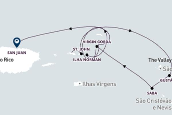 Extraordinário cruzeiro até San Juan