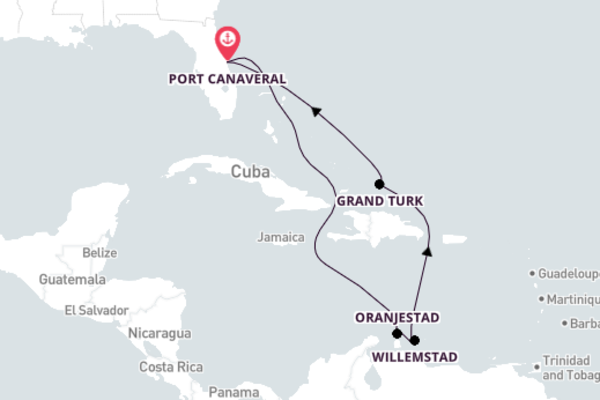 9-Day Sail to Wonderful Curaçao