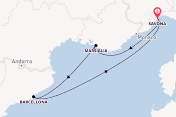 A bordo di Costa Magica fino a Savona