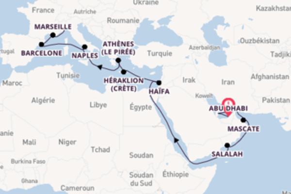 Incontournable balade à bord du bateau Costa Smeralda