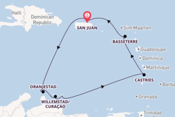 A bordo di Norwegian Epic da San Juan