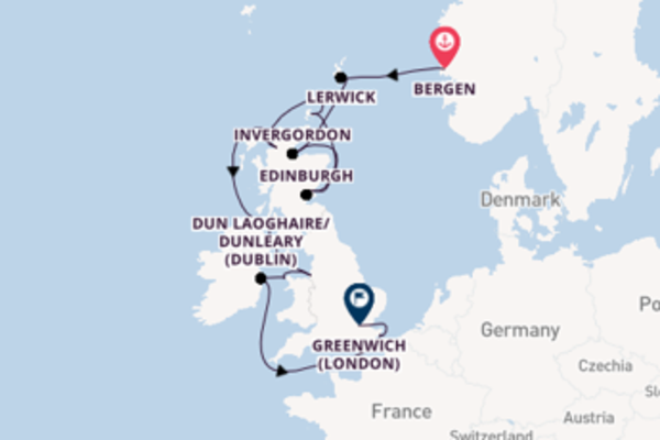 Vibrant voyage from Bergen with Viking Ocean Cruises