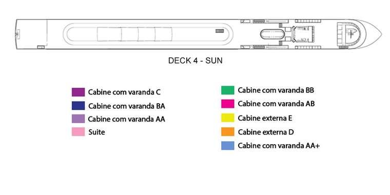 AmaSerena Deck 4 - Sun