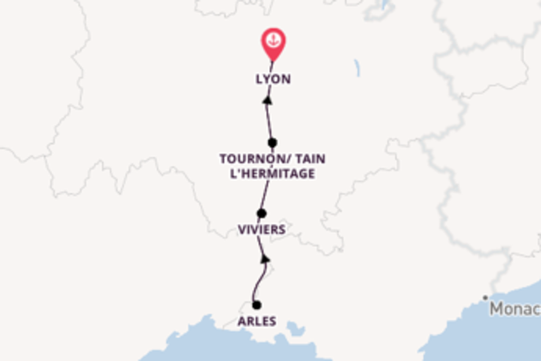 Cruise with CroisiEurope from Lyon